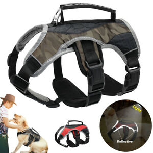 Stop Pulling Reflective Multi-use Harness for Dog Support Lift Harness S M L XL