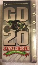 GD 20 - Grave Digger 20th Anniversary (2002) VHS monster truck history NEW RARE