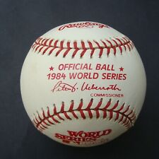 1984 Official Rawlings  World Series Baseball Detroit Tigers