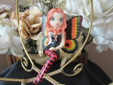 JASMINE BECKET GRIFFITH VIVID WINGS FAIRY FIGURINE ORNAMENT NEW IN BOX