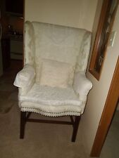 18th c. Chippendale Wing Chair