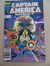 Captain America 288 .Deatlock App .  Marvel 1983 . FN +