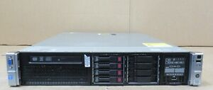 HP ProLiant DL380p G8 GEN8 2x E5-2640V2 8GB RAM 2 x 146GB 2 x 300GB 2U Server