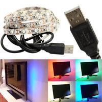 DC 5V USB Power Supply Decor RGB LED Strip light Tape For TV Background Lamp LED