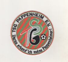 Fabric Patches Patches TSG Pappenheim Football Sports Association