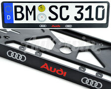 Audi Standart License Frames Plates UK NEW 1pcs.