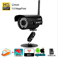 Wireless WIFI Waterproof CMOS CCTV IP Camera Outdoor Security Motion Detection