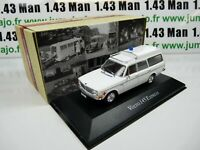 AMB7A 1/43 IXO atlas AMBULANCE COLLECTION  : VOLVO 145 express 1969 croix rouge