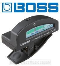 BOSS TU-10-BK Clip-On Tuner For Guitar / Bass New w/Tracking No. From Japan