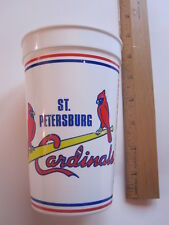 St. Louis Cardinals staduim plastic cup Al Lang Staduim spring training