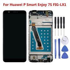 Für Huawei Psmart Enjoy 7S FIG-LX1 Komplettes LCD Display Touchscreen Rahmen RHN