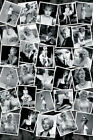 Marilyn Monroe 30 Photo Collage 24x36 Poster White Dress Flowers Beach Candids