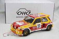 OTTO 1:18 scale Renault 5 Maxi Turbo -Tour de Corse 33 Rallye 1985 *LE 2500pcs*