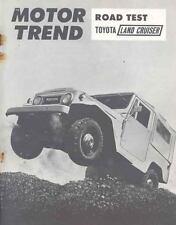 1963 Toyota Land Cruiser Sales Brochure mw7237-PAZ1AO
