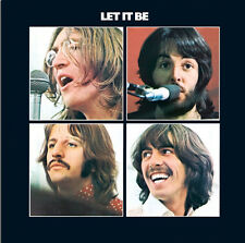 """The Beatles Let it Be Album Cover Canvas Print Art Poster Wall Decor 17""""x17"""""""