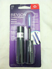 Revlon Custom Eyes Mascara *002 Black* Adjustable Bristle Brush Length &Drama Bn