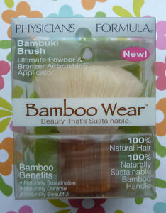 PHYSICIANS FORMULA BAMBOO WEAR BAMBUKI BRUSH # 7096 KABUKI