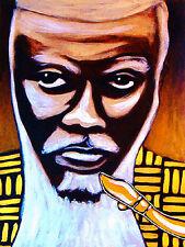 PHAROAH SANDERS PRINT poster jazz sax tauhid cd karma african spiritual coltrane