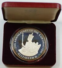 1978 Jamaica .925 Sterling Silver Proof 25 Dollar Coin with Presentation Box