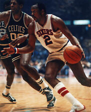 MOSES MALONE PHILADELPHIA 76ERS 8X10 SPORTS PHOTO (L)