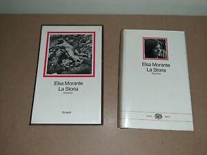 Elsa Morante LA STORIA 1°Edizione nei Millenni 1976