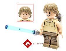Lego Star Wars - LUKE SKYWALKER (Dagobah version with backpack) from 75208