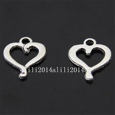 20x Tibet Heart Pendant Charm Beads accessories wholesale  PL129