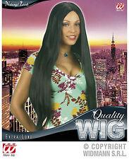 PARRUCCA LUNGA LISCIA NERA WIDMANN 75 cm Extra long quality wig Black L0960