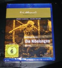 The Nibelungen with Fritz Lang FROM 1924 Deluxe Edition Double Blu Ray new OVP