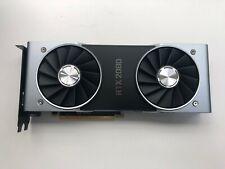 NVIDIA  RTX 2080 8GB FOUNDERS EDITION GDDR6 PCI Graphics Card