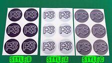 Wheel Centre Cap stickers pour Série 1 2 Ford RS Turbo RS2000 Capri?