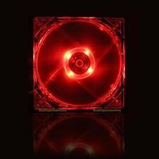 14cm 140mm RED LED 12V 4Pin Computer PC Case Cooler CPU Cooling LED Fan 2200RPM