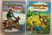 1950 THE BOBBSEY TWINS MERRY DAYS INDOORS AND OUT & In the Country