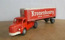 Ancienne miniature JRD - No 120 Tracteur BERLIET semi remorque KRONENBOURG - 50s