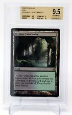 MAGIC THE GATHERING MTG VERDANT CATACOMBS FOIL ZENDIKAR BGS 9.5