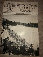 Boston and Maine Railroad Magazine/B&M RR~January-February 1954~Employee News