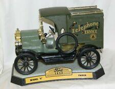 New listing Vintage 1912 Model T Ford Telephone Van Liqueur Decanter Ezra Brooks