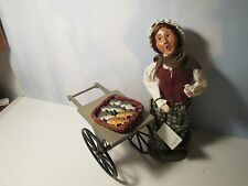 Byers Choice 2001 Cries of London Fish Monger with Cart