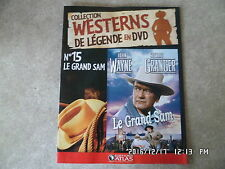 FASCICULE WESTERNS DE LEGENDE EN DVD N°15 LE GRAND SAM John Wayne   I68