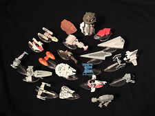 Vintage Galoob Hasbro Star Wars Micro Machines Action Fleet Lot 21 Toys Ships