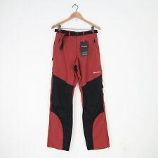 New Mens Montane Special Terra Stretch Nylon Outdoor Pants M Redwood Black W 32