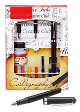 LEFT HANDED ARABIC CALLIGRAPHY PEN GIFT SET for Writing Lettering & Calligraphy
