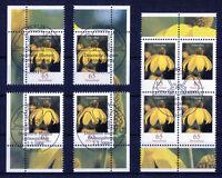 Bund Blumen 2524 gestempelt Vollstempel Eckrand oder Viererblock ETSST BRD 2006