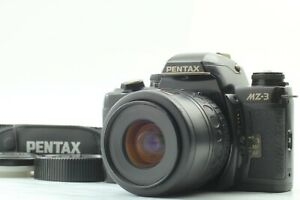 [Near MINT] PENTAX MZ-3 Black Body w/ SMC PENTAX-F f4-5.6 35-80mm from JAPAN 221