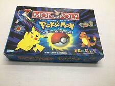 Pokémon Monopoly, Collector's Edition - Vintage 1999 Hasbro - 99% Complete-