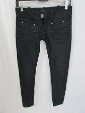 Bebe Dark Blue Vancouver Wash Over dyed Denim Jean Size 25