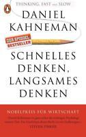 Schnelles Denken, langsames Denken von Daniel Kahneman (2016, Taschenbuch)