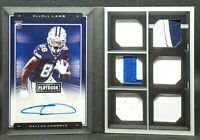 CEEDEE LAMB ⭐ 2020 Rookie Signature Locker Playbook BOOKLET /99 Dallas Cowboys