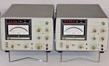 2x HP 3581 A Audio Low Frequency Wave Spectrum Analyzer - 3580 a