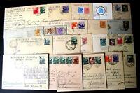 Repubblica - Cartoline Postali  - Lotto da 20  - perfette - 7 -